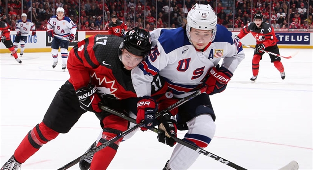World Juniors schedule